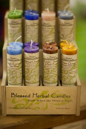 Coventry_Creations_Blessed_Candle_display